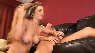 Anal,Ass to Mouth,Cumshot,Glasses,Fucking,Housewife,Lingerie,Mature,MILF,Stepmom