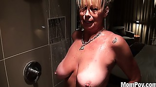 Big Boobs,Mature,MILF,Old and young,POV,Stepmom