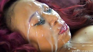 Amateur,Big Boobs,Big Cock,Black and Ebony,Blowjob,Cumshot,Facial,Homemade,Interracial