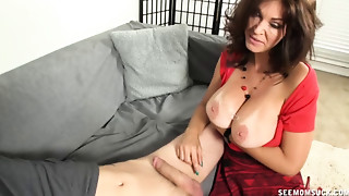 Big Boobs,Cumshot,Dress,Fucking,Mature,MILF,Old and young,Smoking,Stepmom