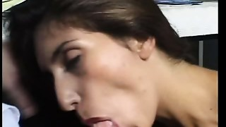 Arab,Blowjob,Brunette,Fucking,Office,Slut