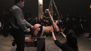Anal,BDSM,Blowjob,Brunette,Fetish,Gangbang,Group Sex,Fucking,Public Nudity,Russian