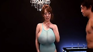 Asian,Big Boobs,Oiled,Small Tits