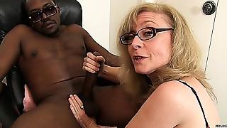 Big Boobs,Big Cock,Blowjob,Cumshot,Facial,Gangbang,Group Sex,Fucking,Interracial,Mature