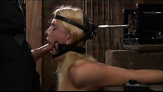 Machine,Fucking,Gagging,BDSM,Blowjob