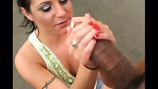 Anal,Big Cock,Facial,Interracial,Threesome