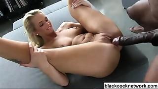 Big Cock,Black and Ebony,Blonde,Blowjob,Cumshot,Interracial