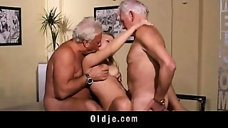 Blonde,Blowjob,Cumshot,Daddy,Doggystyle,Double Penetration,Grannies,Group Sex,Fucking,Old and young