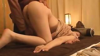 Asian,Beautiful,Couple,Fingering,Massage,Wife