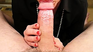 Amateur,Blowjob,CFNM,Close-up,Couple,Cumshot,Fetish,Homemade,Housewife,MILF