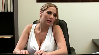 Big Boobs,Fucking,Secretary,Spanking