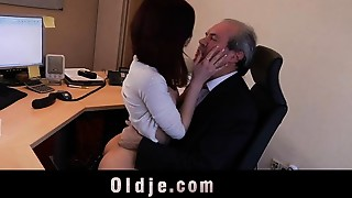 Fucking,Office,Old and young,Redhead,Secretary,Sister,Teen