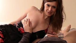 BDSM,Blowjob,Fetish,Latex,Mature,MILF,Old and young,POV,Stepmom