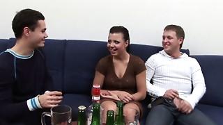 Amateur,Big Ass,Big Cock,Blowjob,Cumshot,Double Penetration,Drunk,Extreme,Facial,Fetish