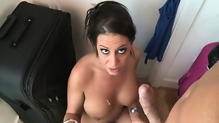 British,Fucking,POV,Slut