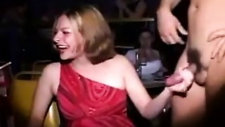 Amateur,Blowjob,CFNM,Handjob,Party,Public Nudity