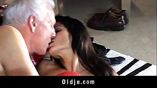 Anal,Blowjob,Brunette,Doggystyle,Fingering,Fucking,Mature,Old and young,Stockings,Teen