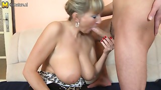 Amateur,Big Boobs,Fucking,Mature,MILF,Old and young,Stepmom,Teen