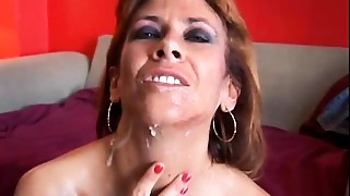 Cumshot,Facial,Fucking,Housewife,Mature,MILF,Old and young,Stepmom,Wife