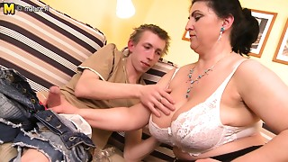 Big Boobs,Hairy,Fucking,Mature,MILF,Old and young,Squirting,Stepmom,Teen