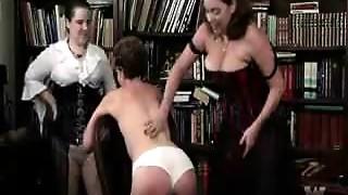 Foot Fetish,Lesbian,Mature,Panties,Spanking