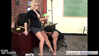 Big Boobs,Blonde,Blowjob,Facial,Glasses,Fucking,High Heels,Lingerie,MILF,Old and young