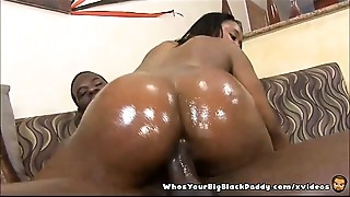 Big Ass,Big Cock,Black and Ebony,Creampie,Cumshot,Exotic,Oiled