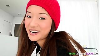 Asian,Ass to Mouth,Big Ass,Big Cock,Cumshot,Doggystyle,Facial,Tattoo,Teen
