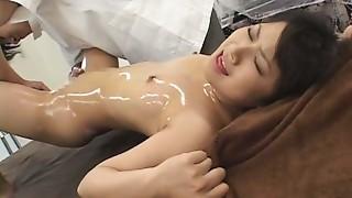 Orgasm,Oiled,Massage,Asian