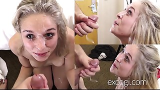 Amateur,Blonde,Blowjob,Cumshot,Facial,Orgasm,POV,School,Teen