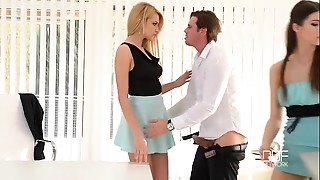Anal,Ass to Mouth,Big Boobs,Big Cock,Cumshot,Doggystyle,Fucking,Natural,Office,School