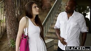 Big Cock,Black and Ebony,Blowjob,Brunette,Cumshot,Doggystyle,Facial,Gagging,Interracial,Petite