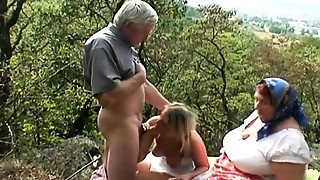 Blonde,Blowjob,Couple,Cumshot,Extreme,Fucking,Mature,Outdoor,Public Nudity,Teen