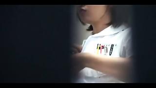Asian,Nurse,Sex Toys,Uniform,Voyeur