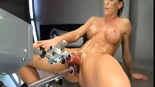 Fucking,Machine,Masturbation,Pornstar,POV,Sex Toys,Squirting