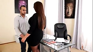 Big Ass,Big Boobs,Big Cock,Blowjob,Cumshot,Fucking,MILF,Office,Secretary