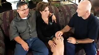 Brunette,Cuckold,Fucking,Kissing,Mature,Wife