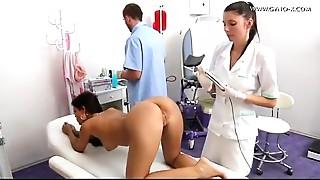 Doctor,Latina,Masturbation,Uniform