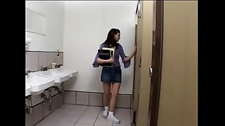 Bathroom,School,Smoking,Student