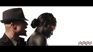 Black and Ebony,Spanking,Strip