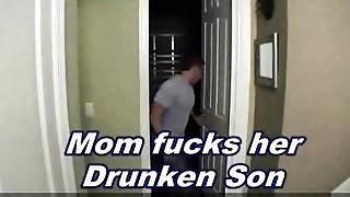 Drunk,Fucking,Mature,MILF,Stepmom