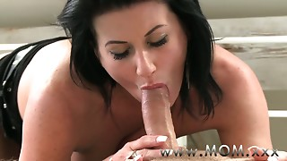 Blowjob,Mature,MILF,Orgasm,Stepmom,Wife