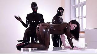BDSM,Double Penetration,Fetish,Fisting,Fucking,Latex,Threesome