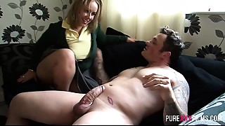 Ass licking,Big Ass,Big Cock,Blonde,Blowjob,British,Cumshot,Daddy,Doggystyle,Fetish