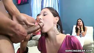 Blowjob,CFNM,Cumshot,Group Sex,Party