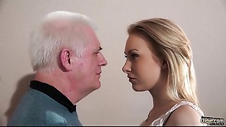 Blowjob,Brunette,Cumshot,Doggystyle,Fucking,Old and young,Student,Teen