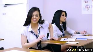 Big Boobs,Big Cock,Blowjob,Latina,School,Uniform