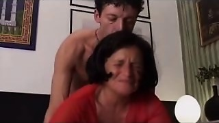 Anal,Fucking,MILF,Old and young,Stepmom,Teen