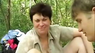 Mature,MILF,Old and young,Outdoor,Stepmom,Teen,Threesome