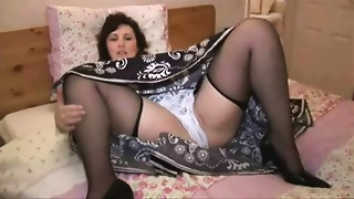 Mature,Panties,Solo,Stockings,Upskirt